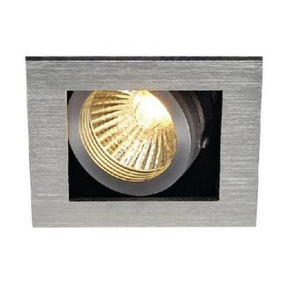 SLV 115516 ALU BOX I GU10 DOWNLIGHT SQUAR