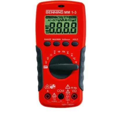 BENNING MM1-3 MULTIMETER DIGI MM1-3