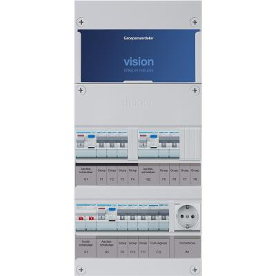 HAGER VKG323E-FW KAST 8GR HS 3ALS+F+W 1F